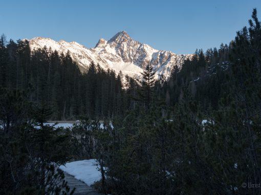 Brandsee – noch gefroren