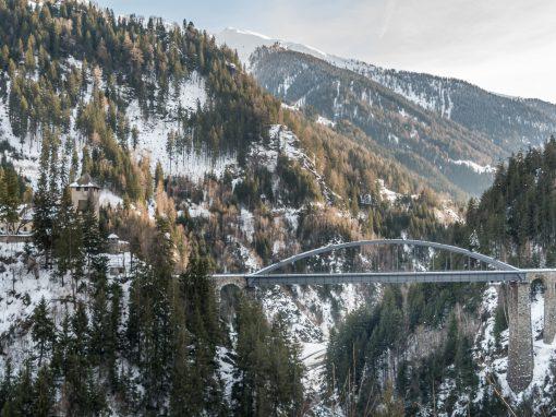 Trisannabrücke   Tirol Splitter