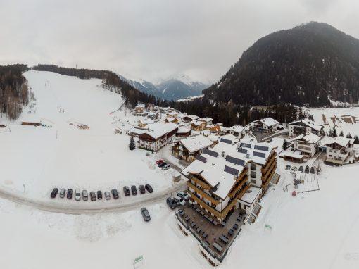 Panorama Tauferberg   Niederthai Feber 2018