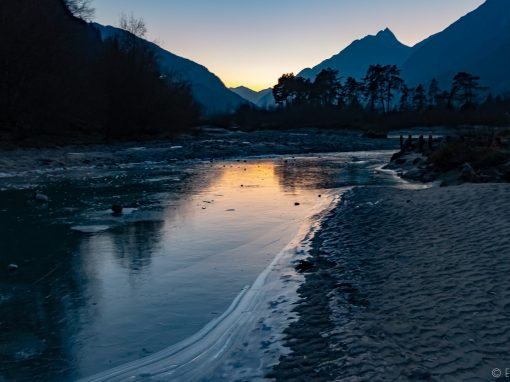 Tirol Splitter | Abenddämmerung im Oberinntal
