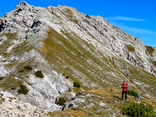 Tirol Splitter | Aufstieg zum Schafjoch