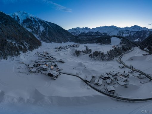 Tirol Splitter | Niederthai | stürmischer Abend