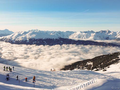 Tirol Splitter | Über den Wolken – Skitag in Jerzens