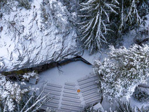Tirol Splitter | Frühwinter mit Flocken im Gaflein