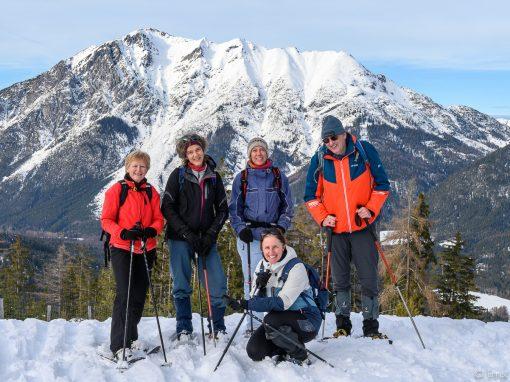 Schneeschuh Wanderung Grünberg