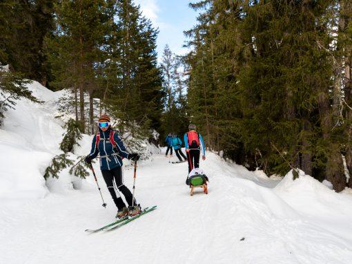 Tirol Splitter 09.02.2021 | Kurze Nassereith Runde und Rodeln vom Simmering