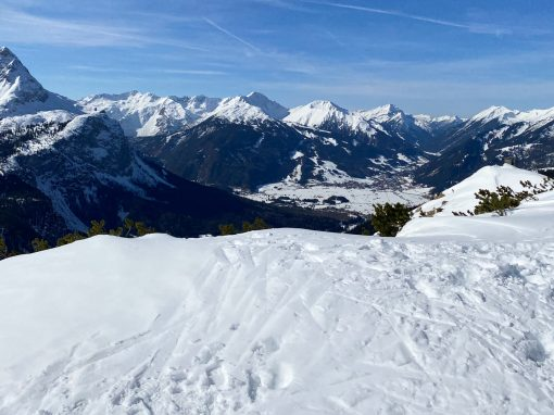 Tirol Splitter 20.02.2021 | Sonnige Pistenskitour in Ehrwald