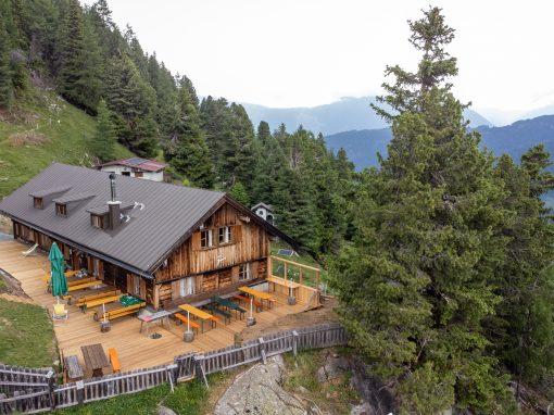 Tirol Splitter 24.06.2021 | Radtour von Tumpen zur Armelen Hütte, etwa 7 km/840 hm