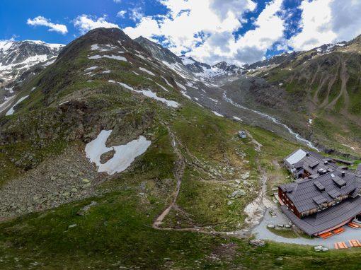 Tirol Splitter 11.07.2021 | Fuldaer Höhenweg zum Taschachhaus
