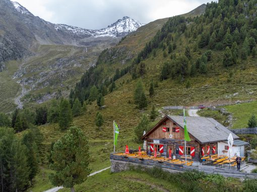 Tirol Splitter 04.09.2021 | MTB+Wanderung Peter-Anich-Hütte